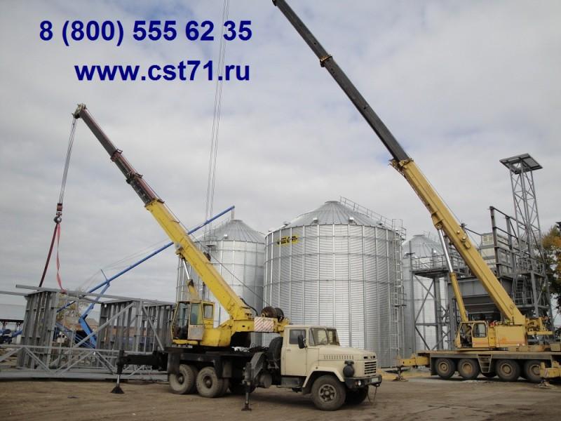 Подготовка металлоконструкций к подъему автокораном